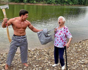 Grandma's Self Defense Class #3 | Ross Smith ft. Houston Jones