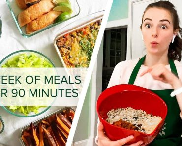 I Meal Prep For A Week In Under 90 Minutes