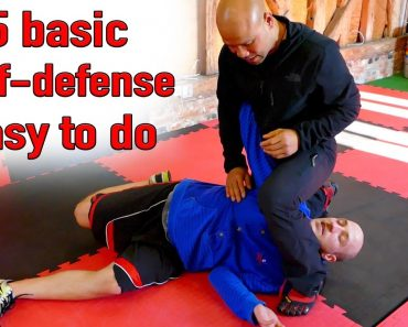 Top 5 Basic Self-Defense Moves ANYONE Can Do