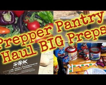 Prepper Pantry Haul/ Plus Non food Preps