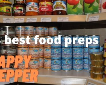 3 food preps every prepper should stockpile