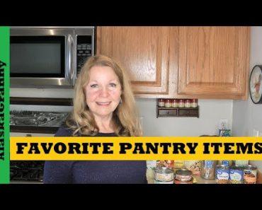 Favorite Pantry Items In My Prepper Food Stockpile